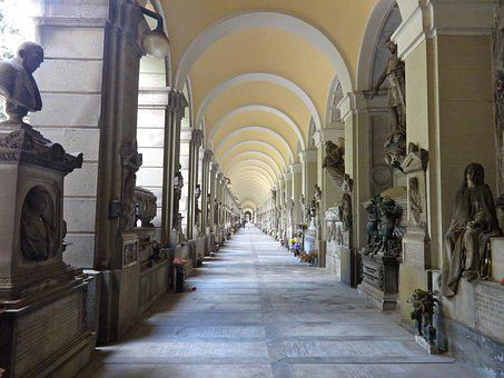 Architecture, Monumental Cemetery Of Genoa, Genoa