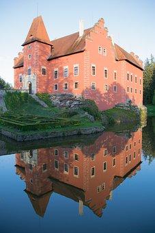 červená Lhota, Castle, Lake, Architecture