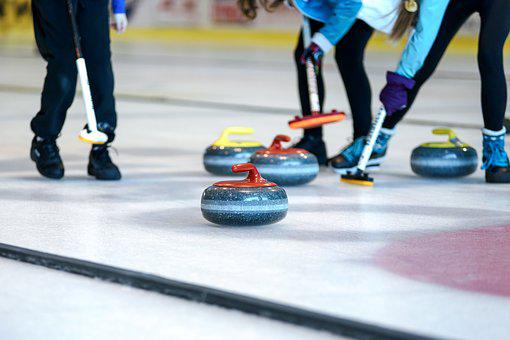 Curling Competition, Competition, Action, An Athlete