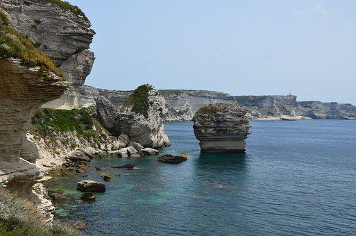 Corsican, Side, Sea, Body Of Water, Roche
