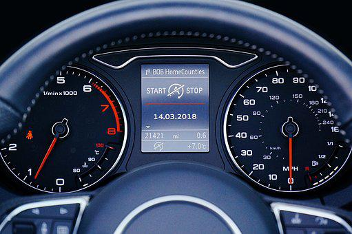 Dashboard, Speedometer, Gauge, Car, Dial, Odometer