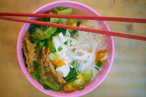 Ramen, Food, Asian, Vegetable, Juicy, Hot, Pain, Plate