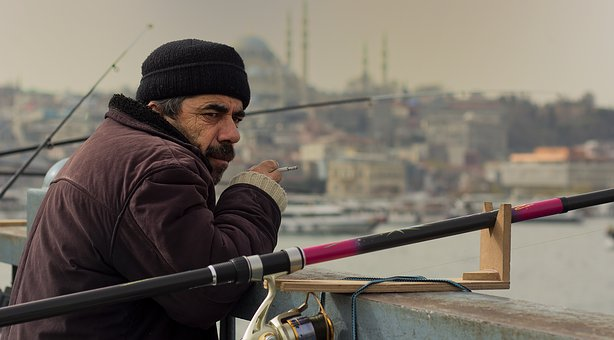 Folk, Male, Single, Human, Adult, Portrait, Istanbul
