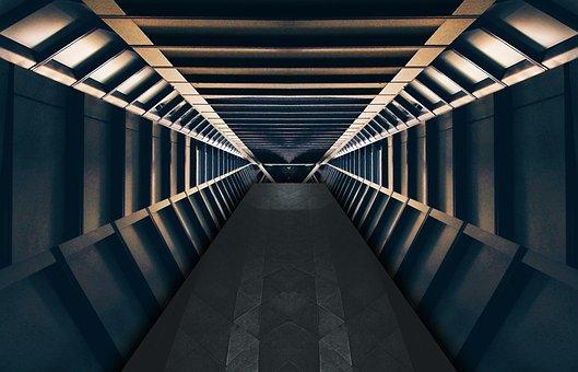 Sci-fi, Fantasy, Book Cover, Tunnel, Interior