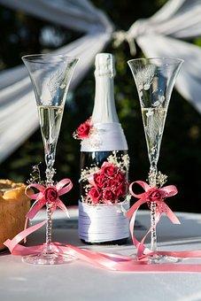 Wedding, Mugs, Buckle, Flowers, Lace