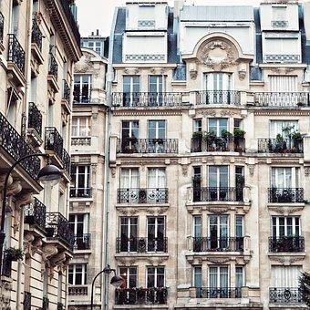 Architecture, Megalopolis, Apartment, House, Paris