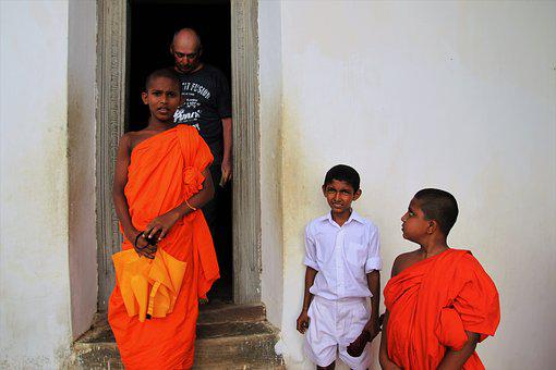 Monk, Buddhist, Look, Faith, Spiritual, Place, People