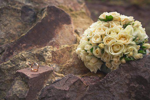Rings Vector, Ring Wedding, Rocks Stone, Wedding