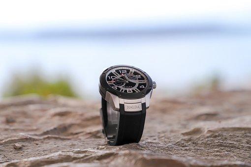 Sand, Halda, Sweden, Racepilot, Watch, Wristwatch