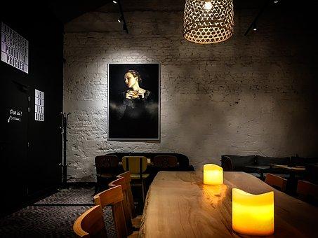 Restaurant, Guest Room, Gastronomy, Modern, Sit, Inn
