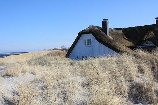 Nature, Beach, Dune, Sky, Landscape, Horizontal