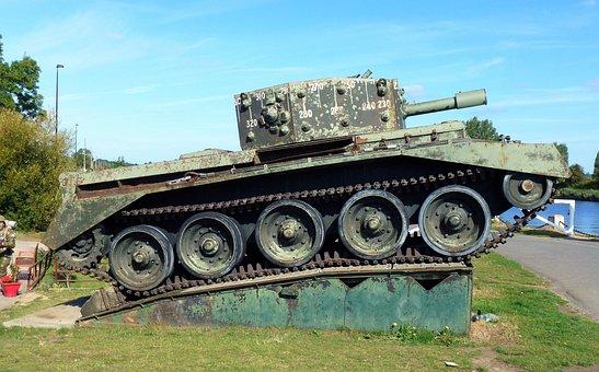 Transport, France, Normandy, Pegasus Bridge, War, Tank