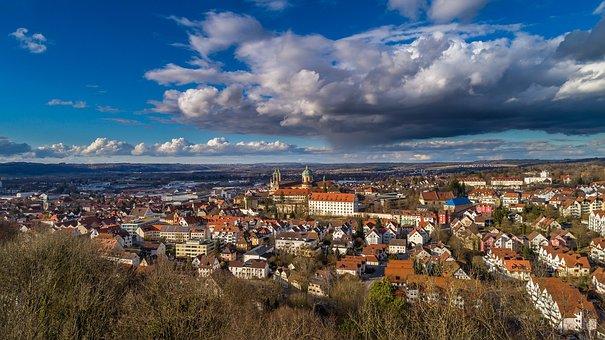 City, Panorama, Urban Landscape, Travel, Vineyard