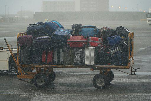 Vehicle, Transportation System, Truck, Luggage, Storm