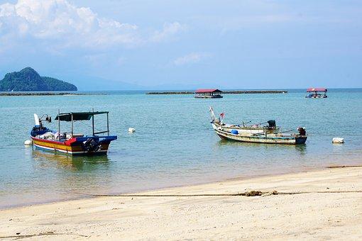 Boat, Sea, Waters, Coast, Ocean, Beach, Travel, Ship