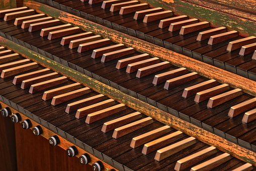 Wood, Organ, Music, Instrument, Church, Church Organ