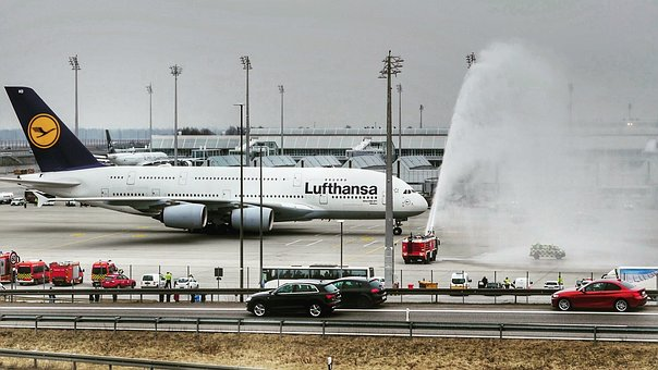 Transport System, Waters, Travel, Aircraft, A380