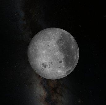 Astronomy, Moon, Sky