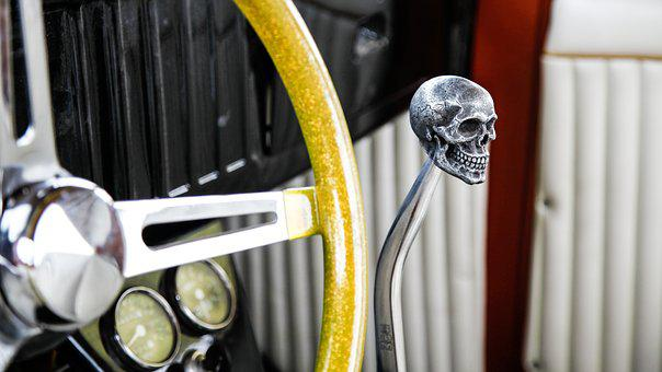 Car, Shiny, Hot Rod, Die, Chrome, Childhood Dream