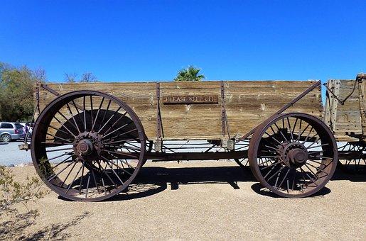 Transport, Usa Wheel, Carry, Vintage, Old, Antique