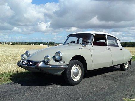 Lemon, Id, Ds, Car, France, Vehicle, Classic, Classics