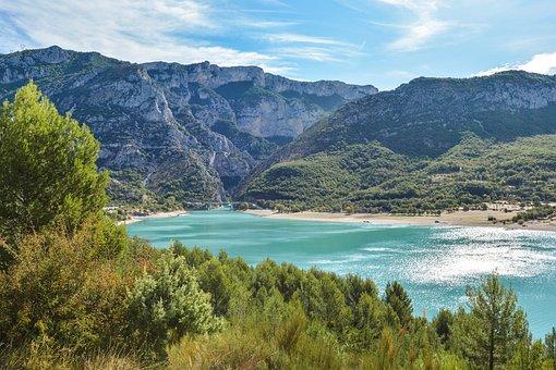 France, Lac De Sainte-croix, Travel, Holiday