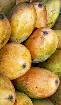 Ripe, Mango, Fruit, Yellow, Orange, Food, Healthy