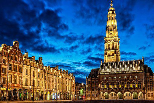 City, Market, Town Hall, Old Town, Historically, France