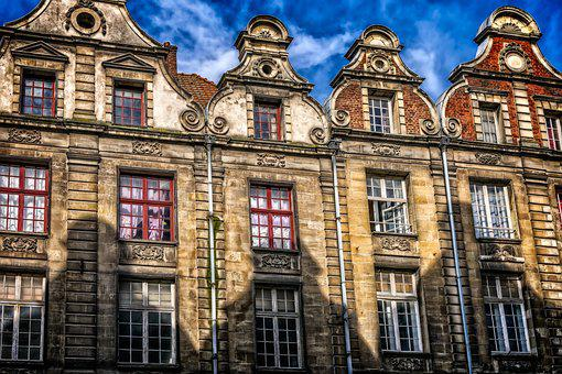 Home, Facade, Architecture, Old Town, Downtown, France