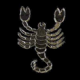 Glass Signs Of The Zodiac, Scorpion, Horoscope