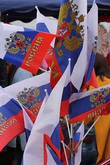 Russia, Flag, Patriotism, Democracy, Freedom, Integrity