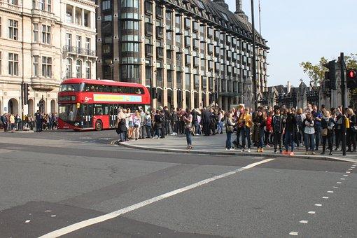 Road, City, Human, Urban, London, Bus