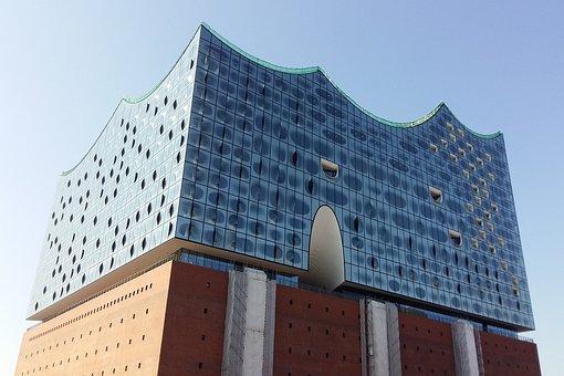 Architecture, Sky, Building, Modern, City, Glass, Urban