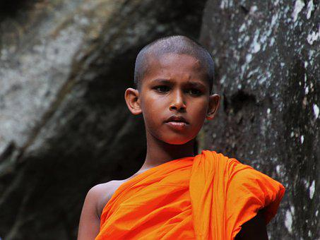 One, Monk, Portrait, At The Court Of, Clothing