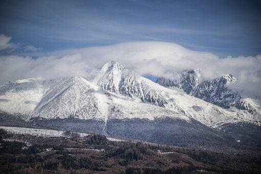 Mountains, Panorama, Nature, Sky, Mountain Panorama