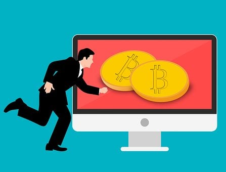 Blockchain, Bitcoin, Businessman, Future, Payment