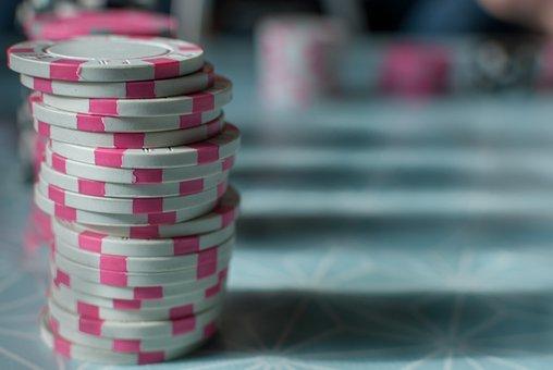 Poker, Token, Game, Blow