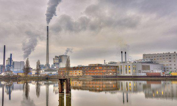 Pollution, Waters, Smoke, Industry, Mill