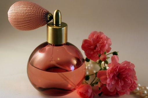 Perfume, Fragrance, Rose, Wellness, Bottle