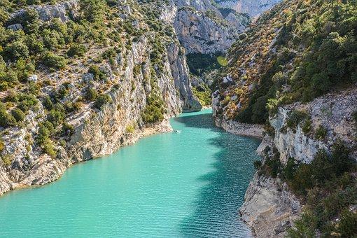 France, The Gorge Of Verdon, Sainte-croix-du-verdon