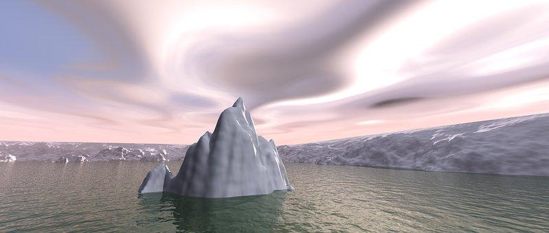 Computer Generated, Water, Nature, Panoramic, Dawn, Sea