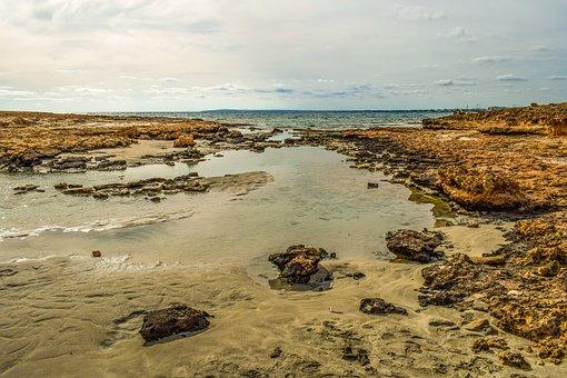 Rocky Coast, Seashore, Sea, Landscape, Nature, Beach