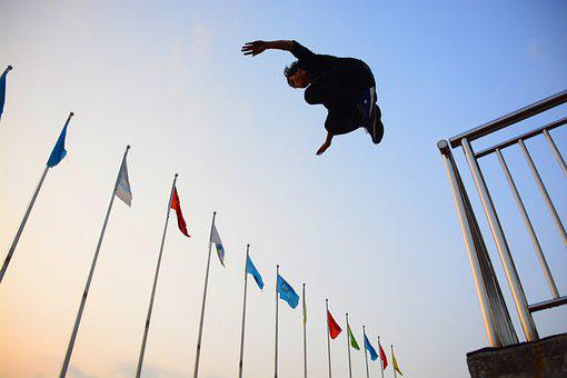Outdoor, Sky, Banner, People, Sports, Free, Balance