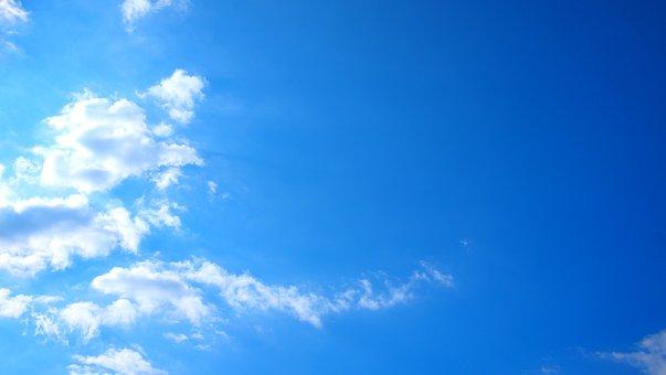 Nature, Heaven, Outdoors, Summer, Blue Sky, Cloud, Sky