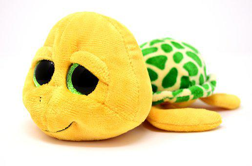 Turtle, Stuffed Animal, Soft Toy, Toys, Cute