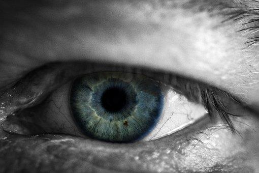 Eyeball, Face, Eyelash, A, Vision, Eye, Human, Close