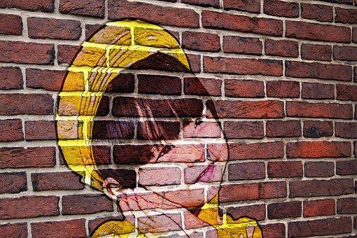 Brick, Wall, Stone, Pattern, Concrete, Brickwork
