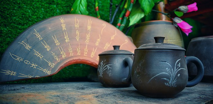 Pottery, Culture, Wok, Traditional, Style