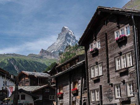 Zermatt, Switzerland, Traditionally