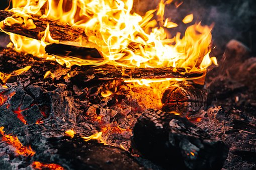 Flame, Heat, Bonfire, Campfire, Fireplace